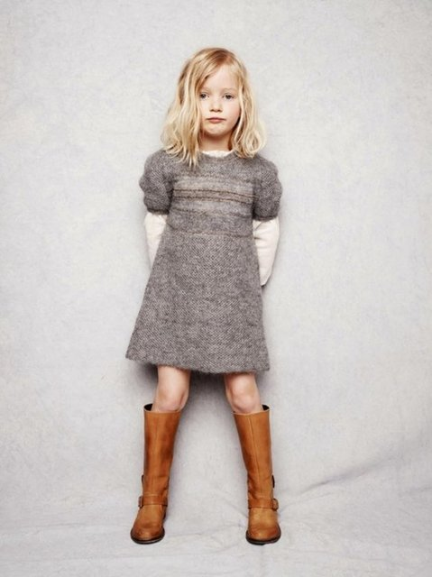 2014 çocuk kış modası